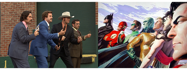 Post image for Friday Three-for-All | Anchorman vs. Batman