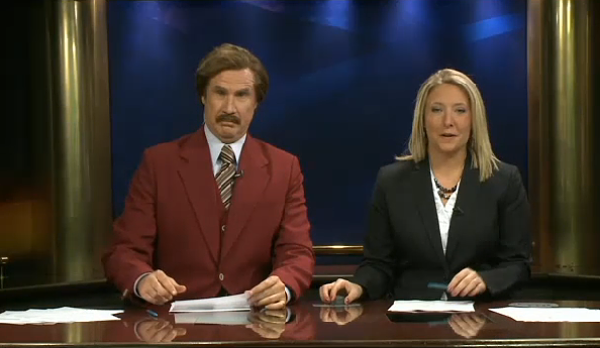 Post image for The 14 Funniest Moments from Ron Burgundy's North Dakota Newscast